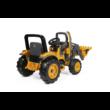 Deere Construction Loader 12V - elektromos gyermektraktor + ingyenes kiszállítás