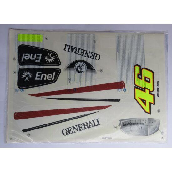 Ducatti GP 12V Valentino Rossi  matrica szett