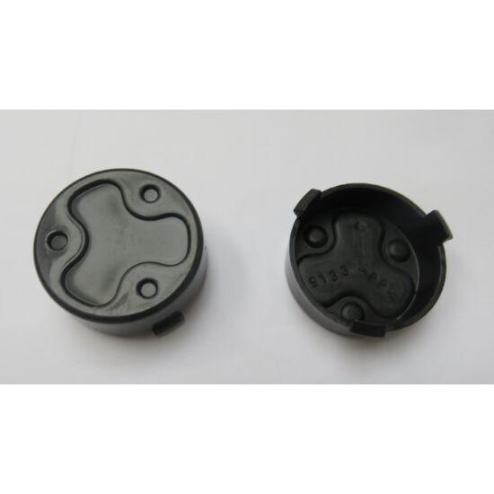 J.D.utánfutó kerék kupak fekete / db