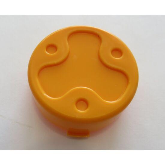 Deere Construction első kerék kupak narancssárga