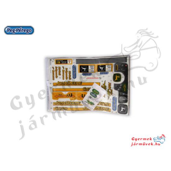 John Deere Gator matrica szett