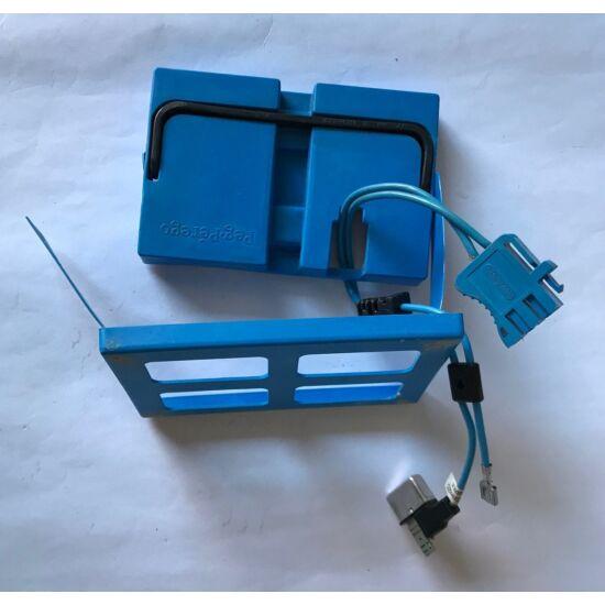 Akkumulátor 12V 12Ah komplett borítás vezetékkel + hőkioldóval használt