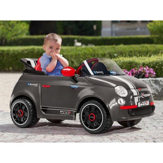 Fiat 500 Red 6V Távirányítóval - elektromos gyermekautó