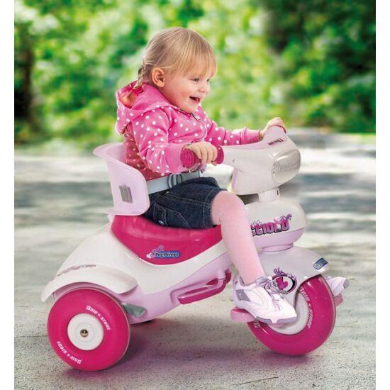 Cucciolo Pink - pedálos tricikli