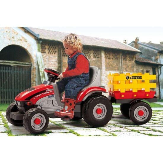 Mini Tony Tigre - pedálos traktor