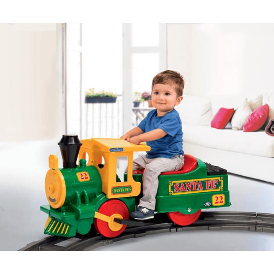 Santa Fe Train 6V kis vonat  - elektromos gyermekjármű