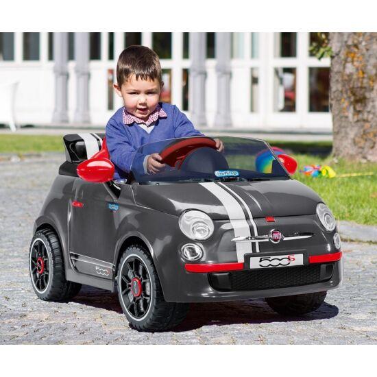 Fiat 500 Grey 6V - elektromos gyermekautó