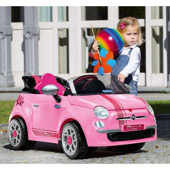 Fiat 500 Pink 6V - elektromos gyermekautó