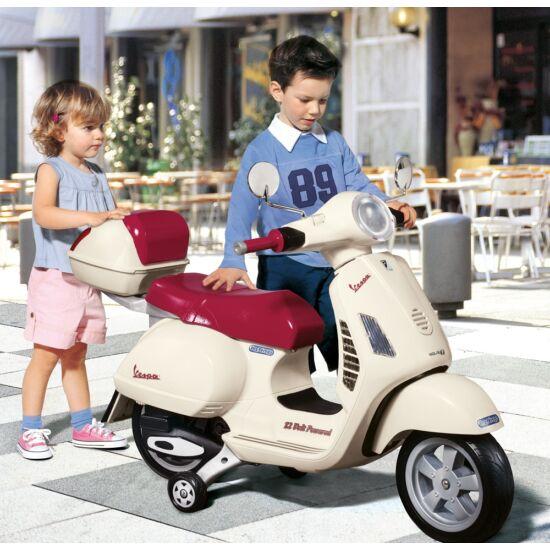 Vespa 12V - elektromos gyermekrobogó + ingyenes kiszállítás