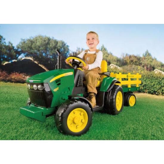 John Deere Ground Force 12V - elektromos gyermektraktor +  ingyenes kiszállítás