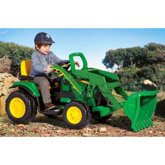 John Deere Ground Loader 12V - elektromos gyermektraktor + ingyenes kiszállítás