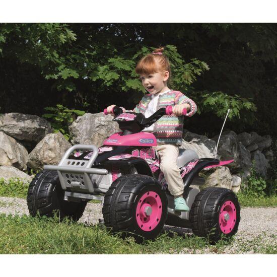 Corral T-Rex pink 12V  - elektromos gyermekquad + ingyenes kiszállítás