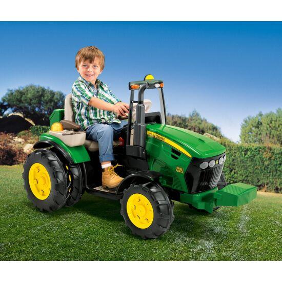 John Deere Dual Force 12V - elektromos gyermektraktor +  ingyenes kiszállítás