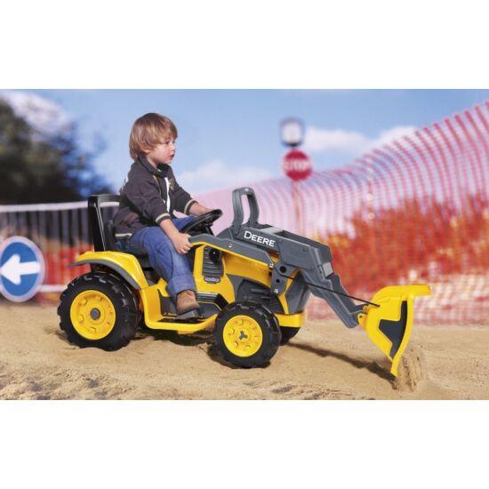 Deere Construction Loader 12V -elektromos traktor