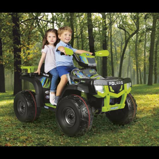 Polaris Sportsman 850 Lime 24V - elektromos gyermekquad