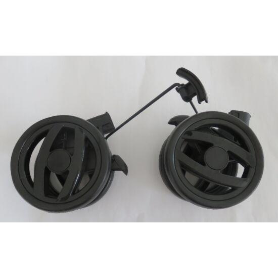 Pliko hátsó dupla kerék 2011 párhuzamos küllős fekete