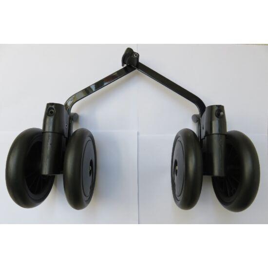 Pliko Mini  hátsó dupla kerék fékkel fekete