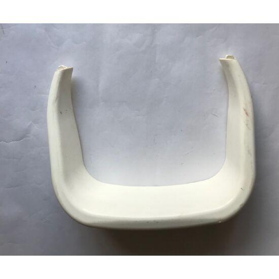 3 kerekű kismotor hátsó ülés mögötti keret fehér