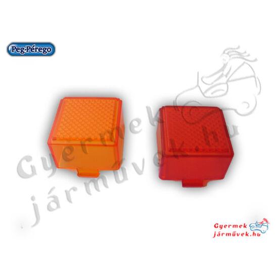 Gaucho hátsó lámpabúra piros és narancs