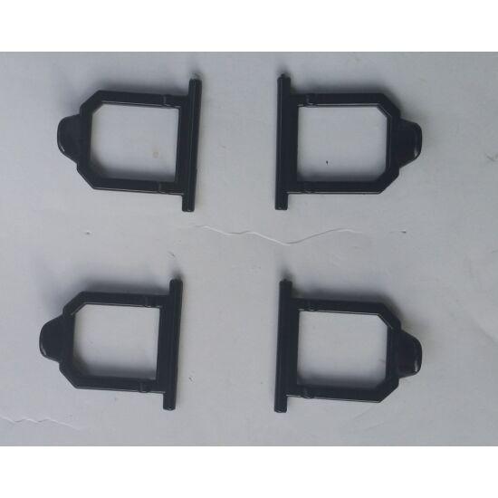 Gaucho szerszámos doboz lefogató fekete/ db
