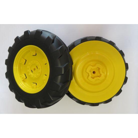 J.D. Dual Force traktor hátsó kerék balos / 2 db