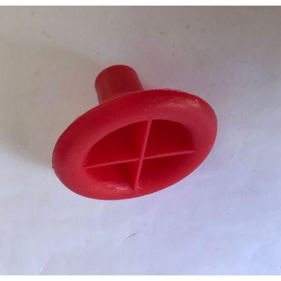 Alátét felütést segítő szerszám piros