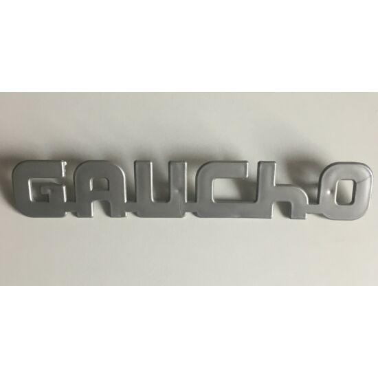 Gaucho felirat szürke